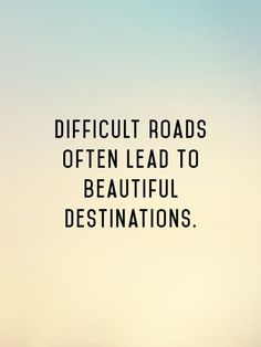 difficult roads